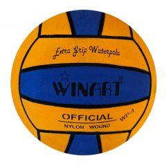 Мяч для водного поло Winart Stripped Yellow (размер 4)