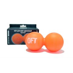 Мяч (шар) массажный для МФР сдвоенный OFT