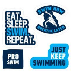 Наклейки Proswim Swim Now, 4 шт