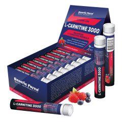 Напиток L-Карнитин Genetic Force L-Carnitin 3000, 25 мл (1 ампула)