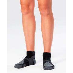 Носки спортивные для бега женские 2XU Vectr Grey (1 пара)