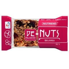 Nutrend Зерновой батончик DeNuts (кешью-миндаль, жареный миндаль-бразильский орех)