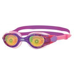 Очки для плавания детские радужные с рисунком ZOGGS Sea Demon Junior (6-14 лет)