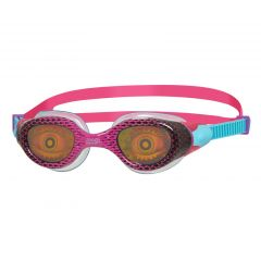 Очки для плавания детские радужные с рисунком ZOGGS Sea Demon Junior (6-14 лет), Pink