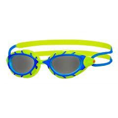 Очки для плавания детские ZOGGS Predator Junior (6-14 лет), Black/Yellow