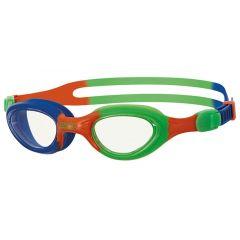 Очки для плавания детские ZOGGS Super Seal Little (0-6 лет), Clear/Green
