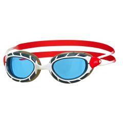 Очки для плавания ZOGGS Predator, Blue/Red