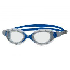 Очки для плавания ZOGGS Predator Flex, Clear/Navy