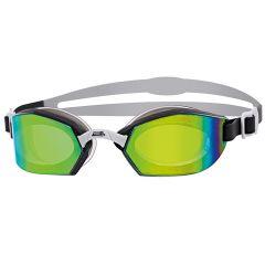 Очки для плавания ZOGGS Ultima Air Titanium, Green/Black