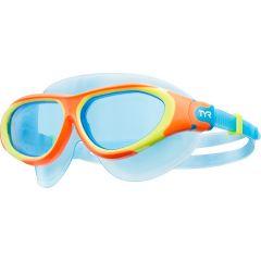 Очки-маска для плавания детская TYR Junior Flex Frame Swim Mask (6-12 лет)