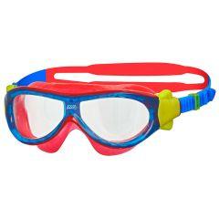 Очки-маска для плавания детские ZOGGS Phantom Kids (0-6 лет), Red/Blue