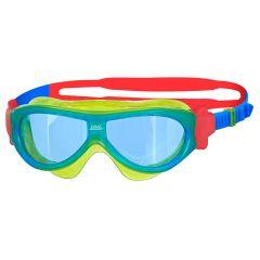 Очки-маска для плавания детские ZOGGS Phantom Kids (0-6 лет), Yellow/Red