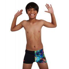 Плавки детские Speedo Digital Placement Aquashort Black