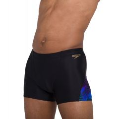 Плавки мужские Speedo Allover V-Cut Aquashort Black