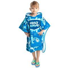 Полотенце-пончо детское MadWave Poncho Mad Bubbles