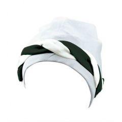 Шапочка для плавания Beco, текстильная, непромокаемая, с косой