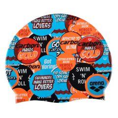 Шапочка для плавания детская Arena Print Junior (6-12 лет) SS19