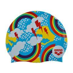 Шапочка для плавания детская Arena Print Junior (6-12 лет) SS20