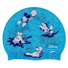 Шапочка для плавания детская Disney Junior Print Cap Mickey (6-12 лет)