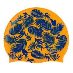Шапочка для плавания детская Junior Slogan Cap Orange - D691 (6-12 лет)