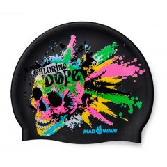 Шапочка для плавания детская MadWave Chlorine Dope Junior