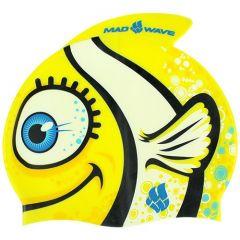 Шапочка для плавания детская MadWave Silicone Clown Fish (6-12 лет)