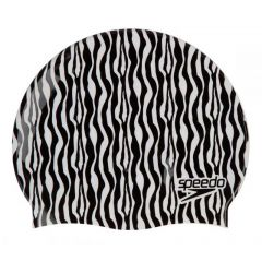 Шапочка для плавания детская Slogan Print Cap Zebra - D685