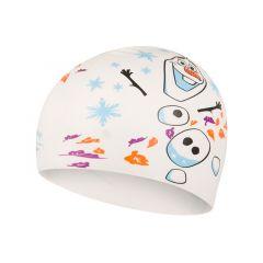Шапочка для плавания детская Speedo Junior Disney Slogan Cap Frozen 2 Olaf