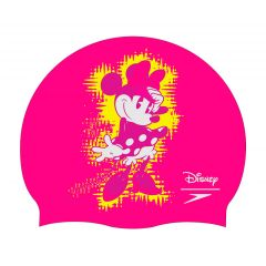 Шапочка для плавания детская Speedo Minnie Mouse Slogan Print Cap Pink