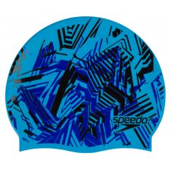 Шапочка для плавания детская Speedo Plain Flat Silicone Cap