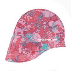 Шапочка для плавания детская Speedo Sea Squad Polyester Cap SS18 (0-6 лет)