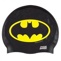 Шапочка для плавания детская ZOGGS Batman Silicone Cap Junior (6-14 лет)