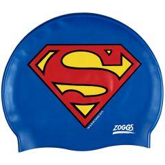 Шапочка для плавания детская ZOGGS Superman Silicone Cap