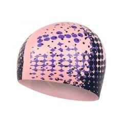 Шапочка для плавания (для длинных волос) Speedo Long Hair Cap Printed Pink - D687