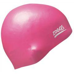 Шапочка для плавания (для длинных волос) ZOGGS Easy-Fit Silicone Cap Pink