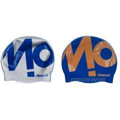 Шапочка для плавания двусторонняя Mosconi Reverse Volumen Logo