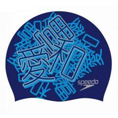 Шапочка для плавания двусторонняя Speedo Flipturns Reversible Cap