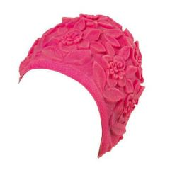 Шапочка для плавания латексная Beco Rose