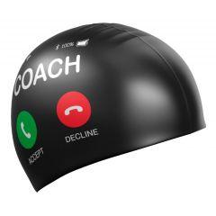 Шапочка для плавания Mad Wave Coach