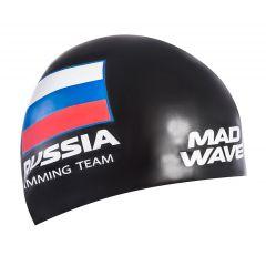 Шапочка для плавания Mad Wave Swimming Team