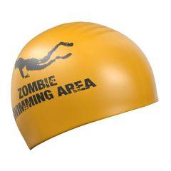 Шапочка для плавания Mad Wave Zombie