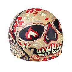 Шапочка для плавания MadWave Tomb Face