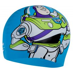 Шапочка для плавания Speedo Adult Disney Slogan Print Cap Buzz Toy Story Blue