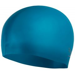 Шапочка для плавания Speedo Adult Plain Moulded Silicone Cap Teal