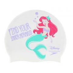 Шапочка для плавания Speedo Disney Little Mermaid Junior Print Cap (6-12 лет)