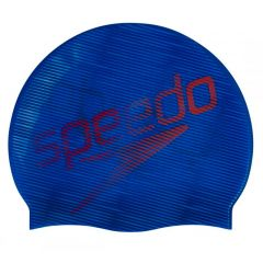 Шапочка для плавания Speedo Slogan Print Cap Navy Blue - D683