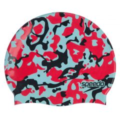 Шапочка для плавания Speedo Slogan Print Cap Red - D684