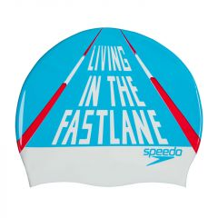 Шапочка для плавания Speedo Slogan Print Cap SS19