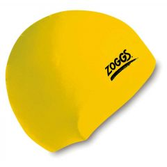 Шапочка для плавания ZOGGS Silicone Cap Yellow