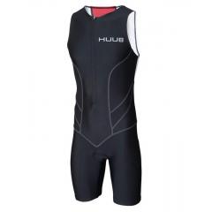 Стартовый костюм для триатлона с велопамперсом мужской (трисьют) HUUB Essentials Trisuit